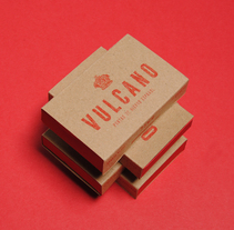 Vulcano. A Br, ing, Identit, Art Direction, Design, Graphic Design, and Packaging project by Soberbia  - Apr 29 2014 12:00 AM