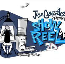 DEMO REEL 2013. Um projeto de Animação de Jose Gonzalez Ibañez - 29-04-2014