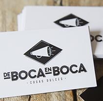 de Boca en Boca. Um projeto de Design, Br, ing e Identidade e Packaging de Hernan Raffo         - 30.04.2014