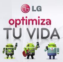 Diseño y animación de personajes / app Facebook LG. A Animation, Character Design, and Film Title Design project by Alex Ramírez - May 05 2014 12:00 AM