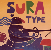Sura Type. A Illustration, T, and pograph project by Alex Dukal         - 04.05.2014