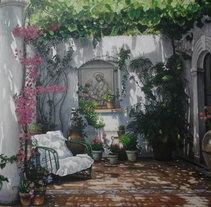 Terraza de ensueño. Um projeto de Pintura de Miguel Caltenco         - 09.05.2014