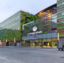 Centro comercial. Perpignan, Francia. Un proyecto de Arquitectura de Dmitry Khomyakov - 31-05-2009