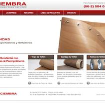 Diseño Web para Ciembra S.A.. A Web Design project by Agencia Nexo Digital - 11-03-2012