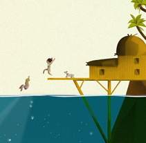 Isla Piña. A Design, Illustration, and Graphic Design project by Pedro Alón - 19-05-2014