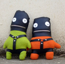 Mix de personajes. A Crafts, To, Design, Character Design&Illustration project by Laura Asensio - May 22 2011 12:00 AM