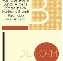 Bauhaus. A Graphic Design project by Pilar Santiño         - 02.05.2014