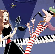Ilustración para Oh my cut!. A Illustration project by Roselino López Ruiz - Apr 20 2014 12:00 AM