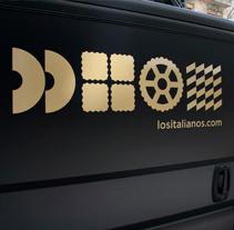 Los Italianos. Un proyecto de Br, ing e Identidad, Cocina y Packaging de Huaman Studio  - 01-06-2014