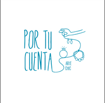"branding/logotipo ""Por tu cuenta"". A Design, Art Direction, Br, ing&Identit project by Sr. Brightside         - 05.06.2014"