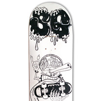 Skateboard • The Critter  #SkateArt. A Design, Illustration, and Fine Art project by Matdisseny (marc argelich trigo) - 11-07-2012