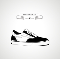 Urban Shoes. A Illustration, and Graphic Design project by CranioDsgn  - 11-06-2014