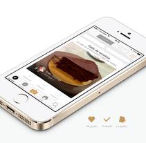 Onfan app - Recomendaciones gastronómicas personalizadas. Un proyecto de UI / UX, Br e ing e Identidad de Ismael Barros - 14-06-2014