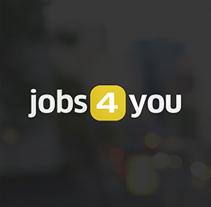 Jobs4you. Um projeto de UI / UX, Br, ing e Identidade e Design interativo de Clever Consulting  - 15-06-2014