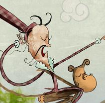 TOMATA I PIMENTÓ, Álbum ilustrado. Un proyecto de Diseño, Ilustración, Diseño de personajes, Diseño editorial y Escritura de Gong         - 15.06.2014
