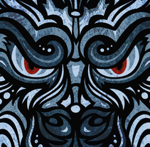 The Direwolf in The North. A Graphic Design&Illustration project by David Figuer - Jun 16 2014 12:00 AM