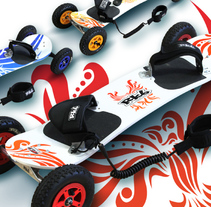 RKB Mountainboards. A Illustration, Packaging, and Product Design project by David Figuer - 15-06-2014