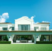 Villa Oasis (3D Exterior). A 3D, Interior Architecture, L, and scape Architecture project by Juan Fernández - 31-05-2009