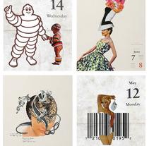 Los días contados / collage. Un proyecto de Ilustración de Gustavo Solana         - 31.12.2013