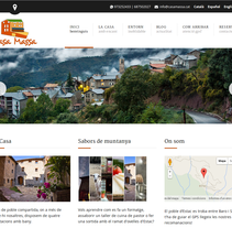 Casa Massa. A Web Design project by Olga Cuevas i Melis - Jun 20 2014 12:00 AM