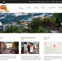 Casa Massa. A Web Design project by Olga Cuevas i Melis         - 19.06.2014