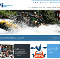 Kayaksort. A Web Design project by Olga Cuevas i Melis         - 19.06.2014