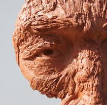 El Hombre Corteza. A Sculpture project by Edudus - 22-06-2014