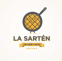 "La Sartén ""Con cariño y huevos"". A Design, Illustration, Br, ing&Identit project by Rebombo estudio         - 01.07.2014"