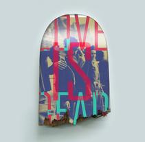 Love is dead. Um projeto de Design, Direção de arte, Br, ing e Identidade, Artes plásticas e Design gráfico de Carlos Parra Ruiz - 26-06-2014