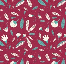 Floral Patterns. A Illustration project by ana seixas         - 01.07.2014