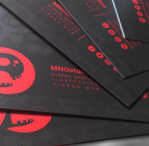 TARJETAS DE VISTA. A Design, Br, ing, Identit, and Graphic Design project by MNOstudios         - 02.07.2014