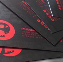 TARJETAS DE VISTA. Um projeto de Design, Br, ing e Identidade e Design gráfico de MNOstudios         - 02.07.2014