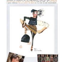 LOOK Folk/Primavera-verano 2014. Um projeto de Design, Ilustração, Direção de arte, Artes plásticas e Design de calçados de Eva Sevilla         - 07.07.2014