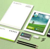Identidad  Corporativa Antonio Godoy. A Design, Br, ing&Identit project by Cristina Mufer         - 07.07.2014