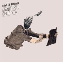 Nouvelle Cuisine Caníbal. Love of lesbian. A Illustration, and Graphic Design project by Sr. García  - 12-07-2014