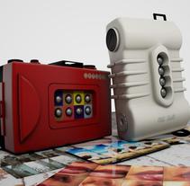 Lomography. 3D Models.. Um projeto de Motion Graphics, 3D e Animação de Laura Reyero         - 16.07.2014