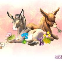 Platero y Chocolate. A Fine Art&Illustration project by Isabel Martín - Jul 05 2014 12:00 AM