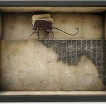 """Panthera Liber"" Diorama. A Illustration project by Óscar  Sanmartín Vargas - 21-07-2014"