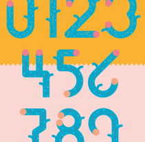 Yorokobu Numerografía. A Illustration, Graphic Design, T, and pograph project by Stereoplastika  - 03-08-2014
