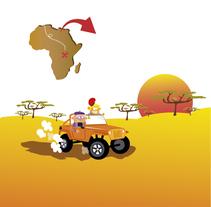 Proyecto SA - Àfrica. Un proyecto de Ilustración de alba santamaria         - 01.06.2014