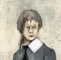La carta. A Illustration project by Manuel Gutiérrez         - 13.08.2014