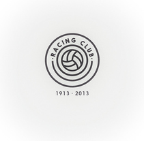 Rediseño del escudo del Racing Club de Santander. A Br, ing, Identit, and Design project by rafa san emeterio  - Aug 19 2014 12:00 AM