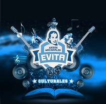 Juegos Nacionales Culturales Evita. A Graphic Design project by Christian Martinez         - 18.08.2014