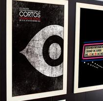 XIV Certamen Internacional de Cortos Ciudad de Soria. Un proyecto de Publicidad y Diseño gráfico de Rafael Rumbo Viera         - 31.10.2012