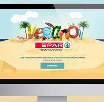 WebApp Verano SPAR. Um projeto de UI / UX, Web design e Desenvolvimento Web de Mokaps          - 26.07.2014