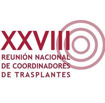 Gráfica XXVIII reunión de coordinadores de trasplantes. Un proyecto de Br, ing e Identidad, Diseño editorial y Diseño gráfico de Juan Diego Bañón Muñoz - 31-05-2013