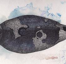 Detalles para encargo marino. Un proyecto de Ilustración de MARIA BEITIA         - 02.09.2014