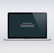 Nuba reports V2 web. Un proyecto de Diseño gráfico y Diseño Web de Marina L. Rodil Garamond         - 09.02.2013