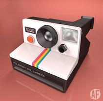 Polaroid 1000. Um projeto de 3D de Alberto Álvarez         - 10.09.2014