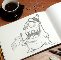 Yeti. A Illustration, and Character Design project by sdompi         - 16.09.2014